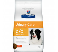 Prescription Diet c/d Multicare Urinary Care сухой корм для собак, с курицей