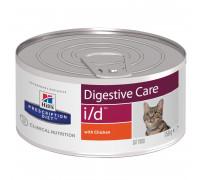 Prescription Diet i/d Digestive Care влажный корм для кошек и котят при расстройствах жкт, с курицей, 156г
