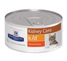 Prescription Diet k/d Kidney Care влажный корм для кошек, с курицей, 156г