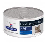 Prescription Diet z/d Food Sensitivities влажный корм для кошек, 156г