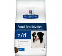Prescription Diet z/d Food Sensitivities сухой корм для собак, диетический гипоаллергенный