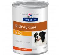 Prescription Diet k/d Kidney Care влажный корм для собак, 370г