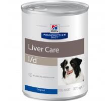 Prescription Diet l/d Liver Care влажный корм для собак, 370г