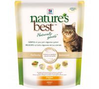 Natures Best сухой корм для кошек, натуральный с курицей