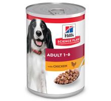 Science Plan Canine Adult консервы для собак, с курицей