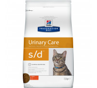 Prescription Diet s/d Urinary Care сухой корм для кошек, лечение МКБ, с курицей