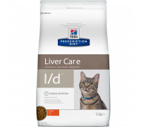 Prescription Diet l/d Liver Care сухой корм для кошек, с курицей