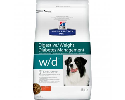 Prescription Diet w/d Digestive/Weight Management сухой корм для собак