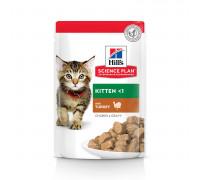 Science Plan Healthy Development влажный корм для котят, с индейкой, 85г