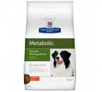 Prescription Diet Metabolic Weight Management сухой корм для собак, с курицей