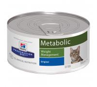 Prescription Diet Metabolic Weight Management влажный корм для кошек, 156г