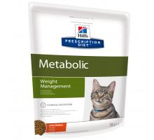 Prescription Diet Metabolic Weight Management сухой корм для кошек, с курицей