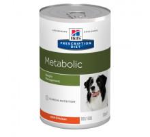 Prescription Diet Metabolic Weight Management влажный корм для собак, с курицей, 370г