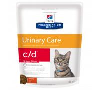 Prescription Diet c/d Stress Urinary Care сухой корм для кошек, лечение цистита и МКБ, с курицей