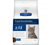 Prescription Diet z/d Food Sensitivities сухой корм для кошек, диетический гипоаллергенный