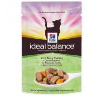 Ideal Balance влажный корм для кошек, с сочной индейкой, 85г