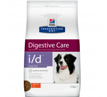 Prescription Diet i/d Low Fat Digestive Care сухой корм для собак, с курицей