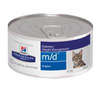 Prescription Diet m/d Diabetes/Weight Management влажный корм для кошек, 156г