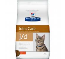 Prescription Diet j/d Joint Care сухой корм для кошек, с курицей