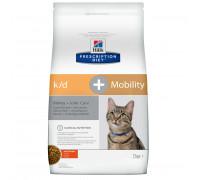 Prescription Diet k/d + Mobility Kidney + Joint Care сухой корм для кошек, с курицей