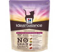 Ideal Balance No Grain сухой корм для кошек, натуральный беззерновой с курицей и картофелем