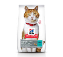 Science Plan Sterilised Cat сухой корм для кошек и котят, с тунцом