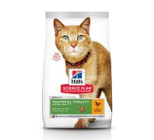 Science Plan Youthful Vitality сухой корм для кошек старше 7 лет, с курицей и рисом