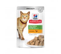 Science Plan Youthful Vitality влажный корм для кошек старше 7 лет, с курицей, 85г