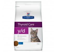 Prescription Diet y/d Thyroid Care сухой корм для кошек