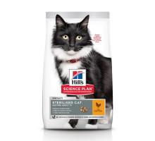 Science Plan Sterilised Cat сухой корм для стерилизованных кошек старше 7 лет, с курицей