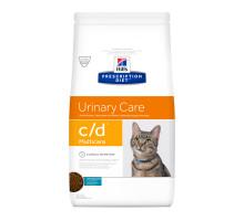 Prescription Diet c/d Multicare Urinary Care сухой корм для кошек, лечение цистита и МКБ, с рыбой