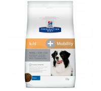 Prescription Diet k/d + Mobility Kidney + Joint Care сухой корм для собак