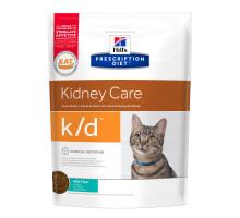 Prescription Diet k/d Kidney Care сухой корм для кошек, с тунцом