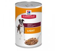 Science Plan консервы для взрослых собак, склонных к набору веса, 370г