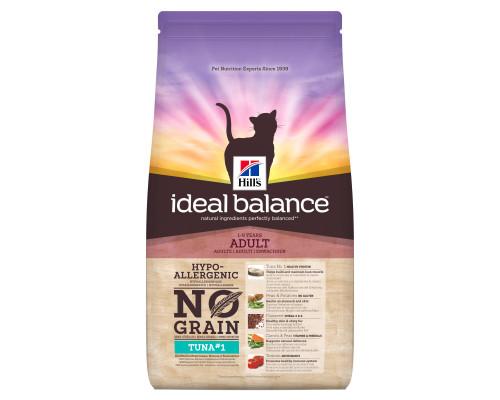 Ideal Balance No Grain сухой корм для кошек, натуральный беззерновой с тунцом и картофелем