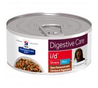 Prescription Diet i/d Stress Mini влажный корм для собак, с курицей и овощами, 156г