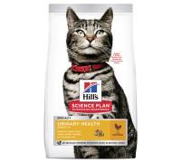 Сухой корм Hills Science Plan Urinary Health для взрослых кошек, склонных к мочекаменной болезни, с курицей, 7 кг