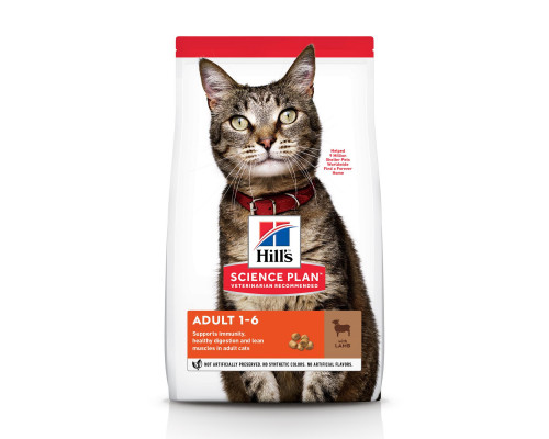 Science Plan Optimal Care сухой корм для кошек, с ягненком