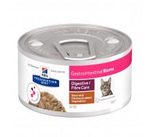 Prescription Diet Gastrointestinal Biome влажный диетический корм для кошек при расстройствах пищеварения, c курицей, 82г