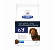Корм сухой для собак Z/D Мини, лечение аллергии